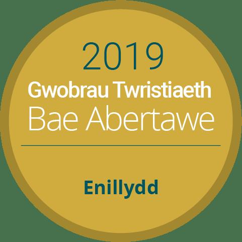 Gwobrau Twristiaeth Bae Abertawe Enillydd 2019