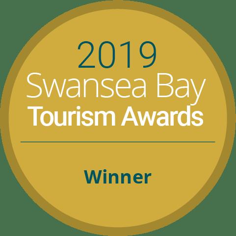 Swansea Bay Tourism Awards Winner 2019